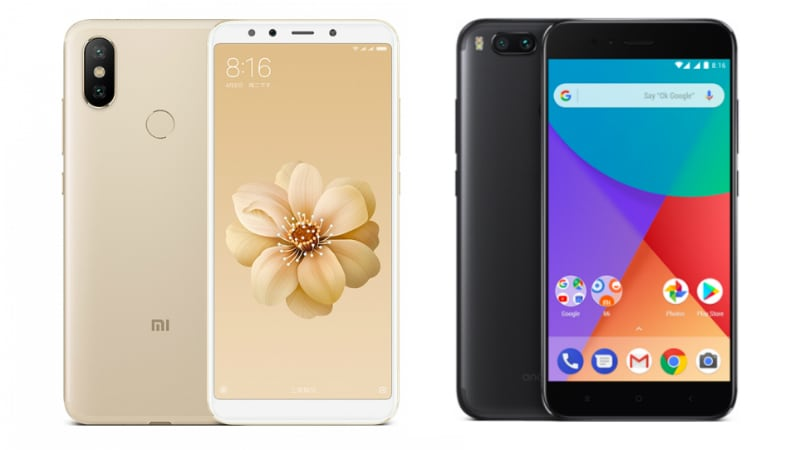 Mi 6x Mi A2 Vs Mi A1 Price Specifications Features