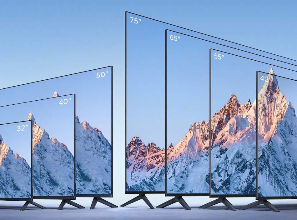 Mi TV EA 2022 Range With Metal Unibody Design Launched in Seven Sizes