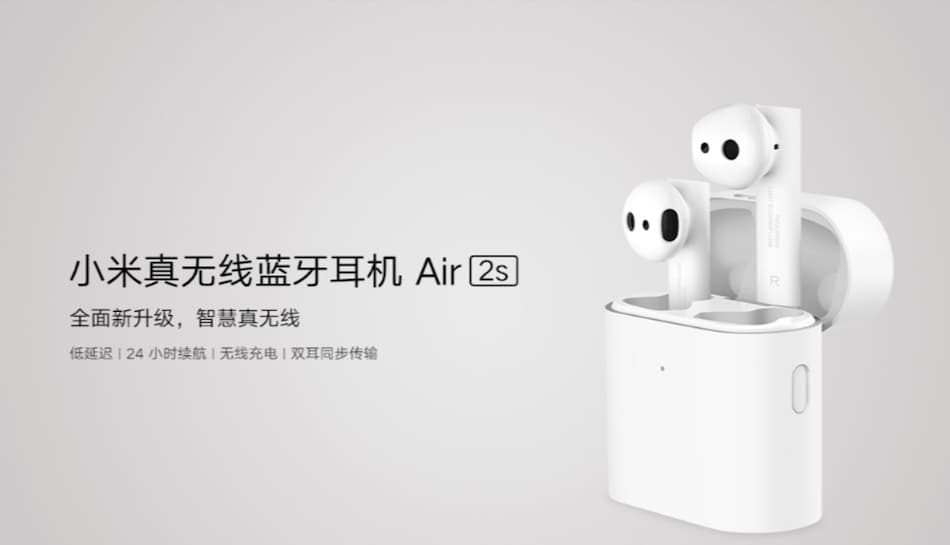Mi Air 2S Truly Wireless Earphones With 5-Hour Battery Life Launched