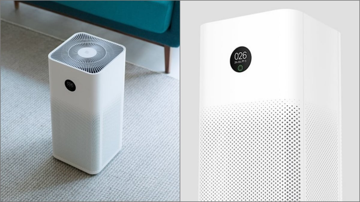 Mi Air Purifier 3 With HEPA Class 13 Filter and Improved Clean Air Delivery Rate Launched in India