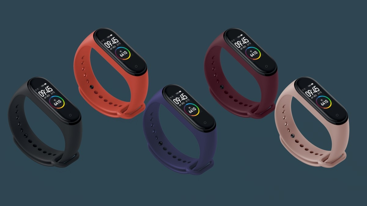 Mi Band 4 With Colour AMOLED Display, Heart Rate Tracking Launched in India