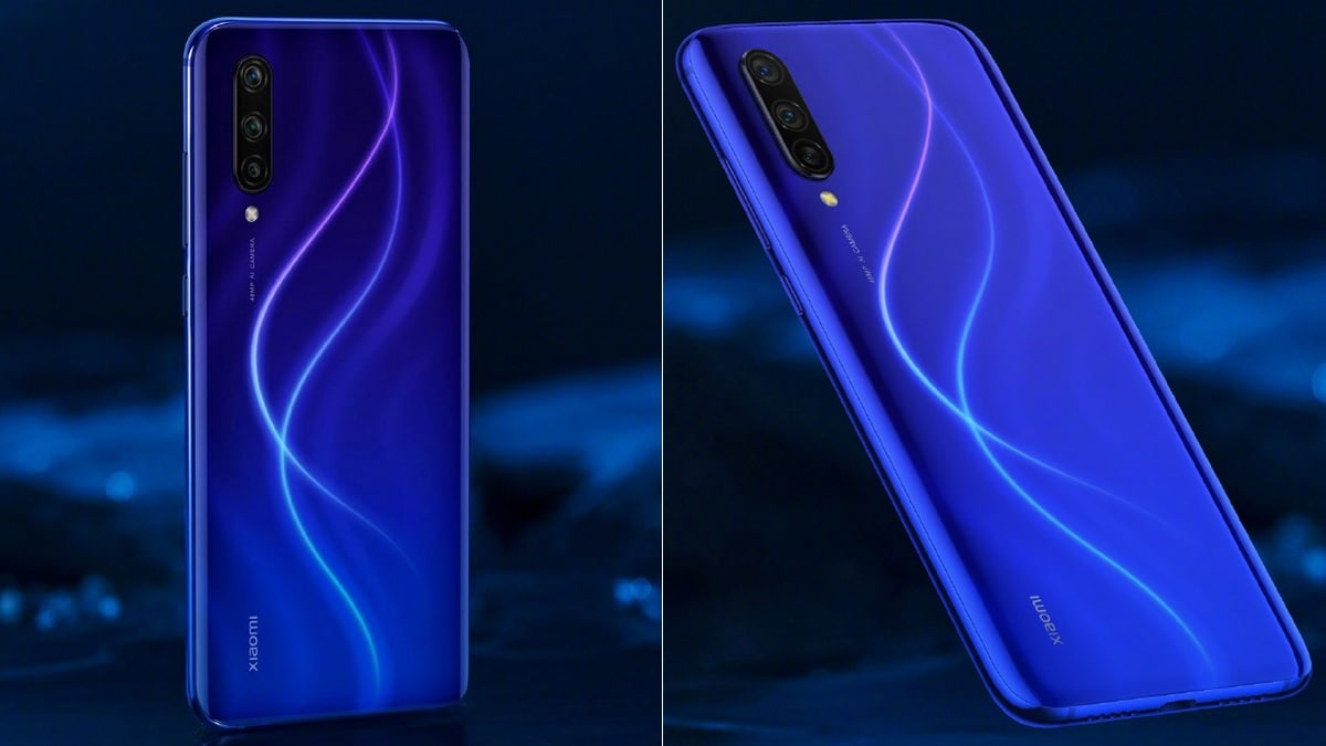 Xiaomi Mi CC9 Dark Blue Planet Variant Showcased Ahead of Launch