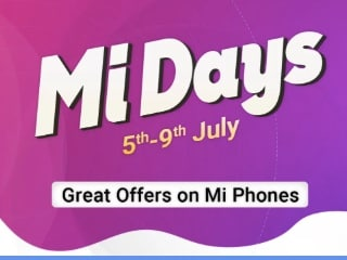 Mi Days Sale Now Live on Amazon and Flipkart, Mi Super Sale Back on Mi.com: Top Deals, Offers on Xiaomi Phones