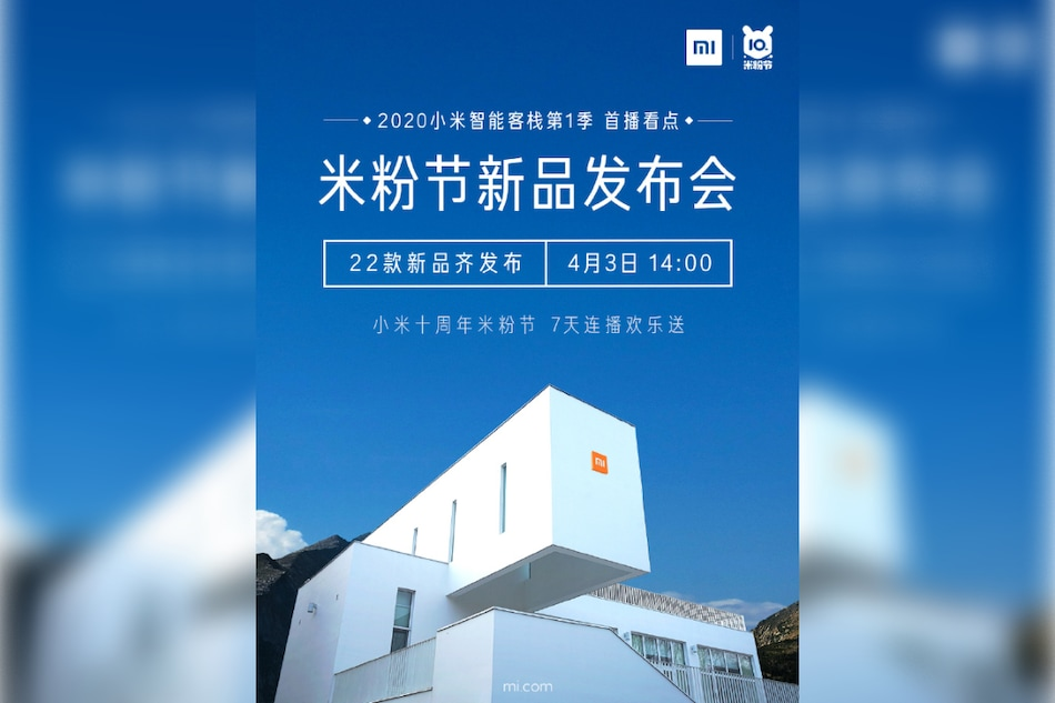 Xiaomi to Host Mi Fan Festival 2020 Event on April 3 to Celebrate 10th Anniversary, 22 Products Set to Debut