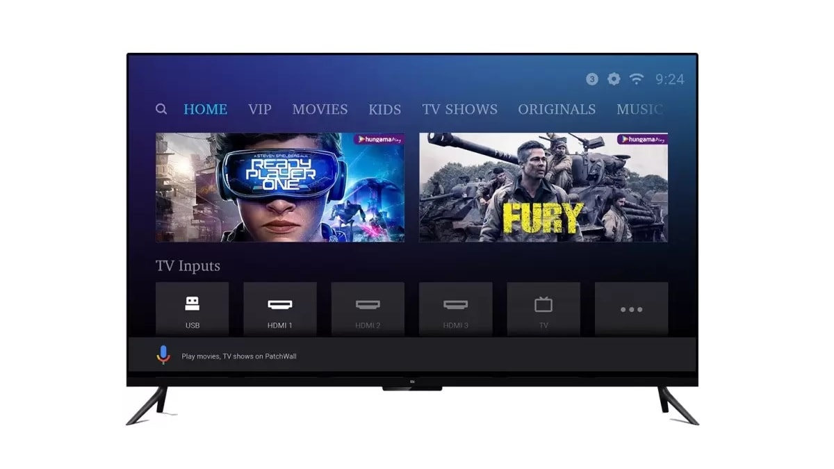 Mi TV 4A Pro Range, Mi TV 4 Pro 55-Inch Other Mi TV Models to Get Android Pie-Based PatchWall 2.0 in Q4 2019: Xiaomi