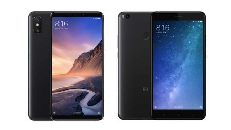 Xiaomi Mi Max 3 vs Mi Max 2: Price, Specifications Compared