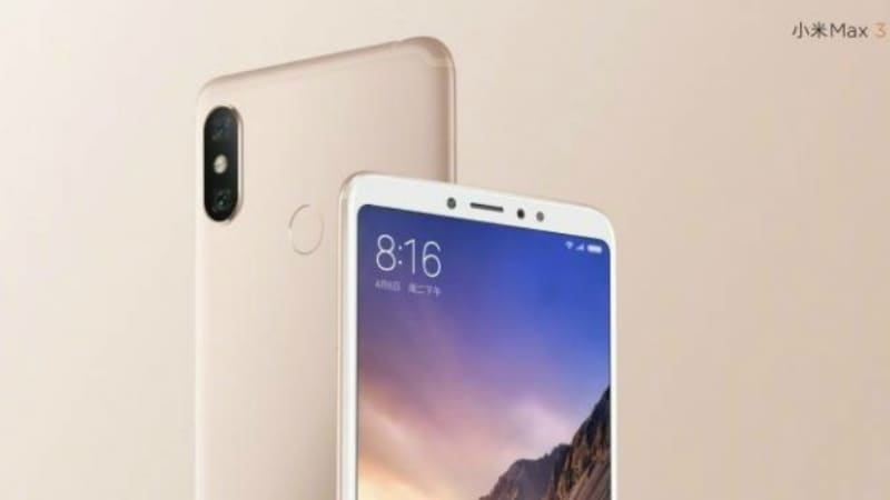 Mi Max 3 Price Teased, Specifications Revealed via Xiaomi Teaser Ahead of July 19 Launch