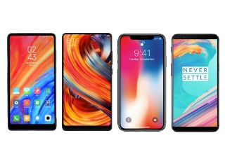 Mi MIX 2S vs Mi MIX 2, iPhone X, OnePlus 5T: Price, Specifications, Features Compared