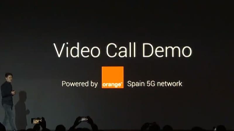 To highlight how 5G is going to transform the user experience Xiaomi at its conference showcased a 5G video call demo- powered by Orange