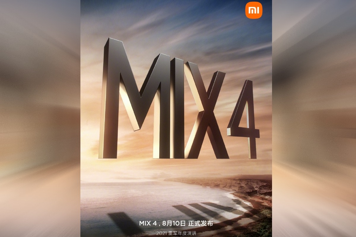 Xiaomi Set to Launch Mi Mix 4 on August 10