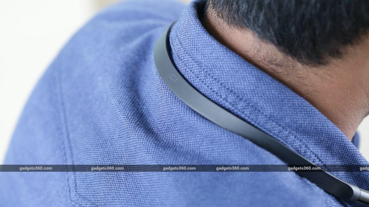 mi नेकबैंड ब्लूटूथ इयरफ़ोन का रिव्यू लोगो Xiaomi Mi