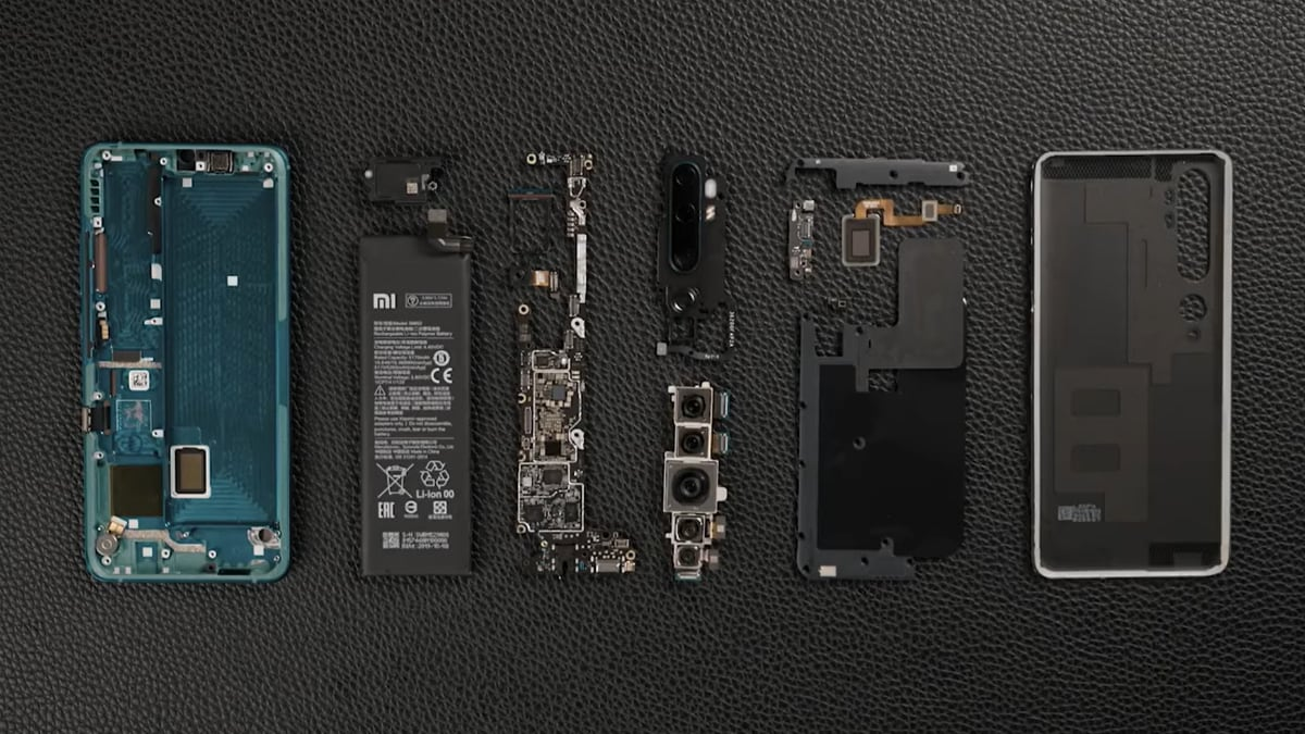 Mi Note 10 aka Mi CC9 Pro Dismantled in Official Video to Show Off Internals