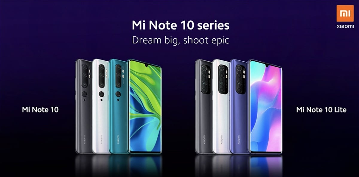 Mi Note 10 Lite Price, Specifications Tipped Ahead of Today's Launch