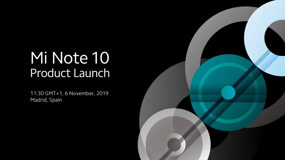 Image result for Mi Note 10 Event