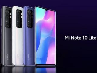 Xiaomi Mi Note 10 Lite होगा 30 अप्रैल को लॉन्च