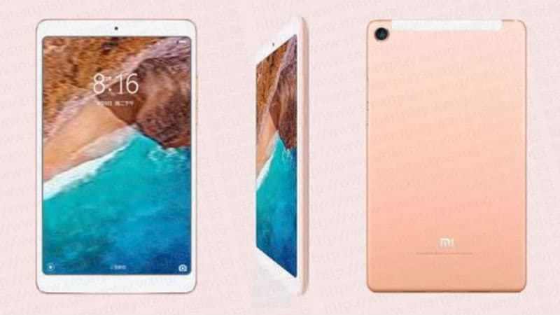 Mi Pad 4 Price, Variants, Colour Options Leaked; Xiaomi Confirms AI Face Unlock Feature