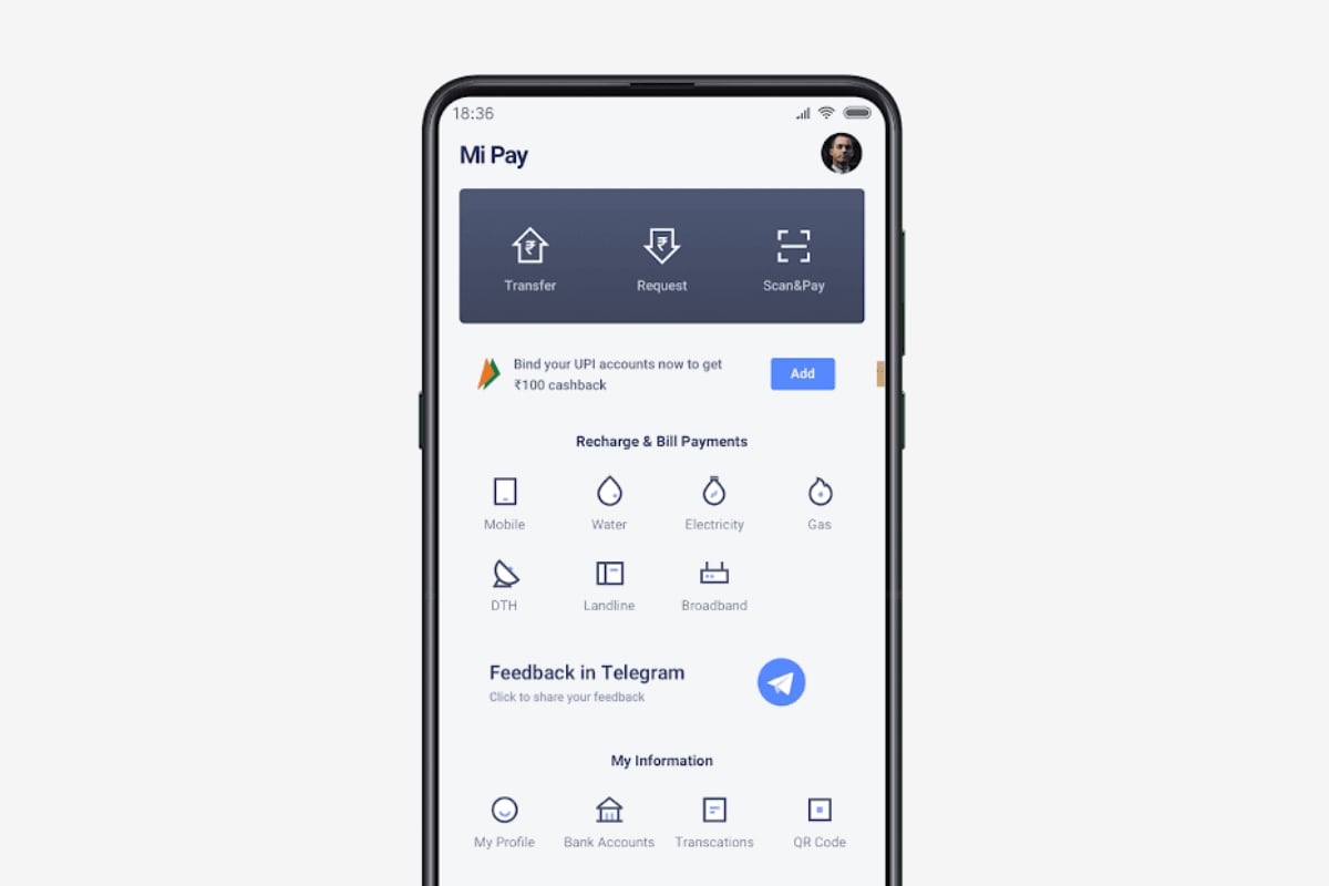 Mi Pay UPI-Based Payments App Now Available via Google Play for Non-Xiaomi Phones
