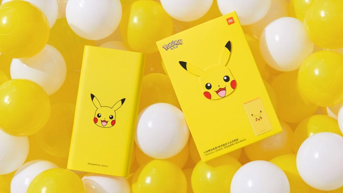 mi Power Bank 3 Pikachu Edition Image Mi Power Bank 3 Pikachu Edition