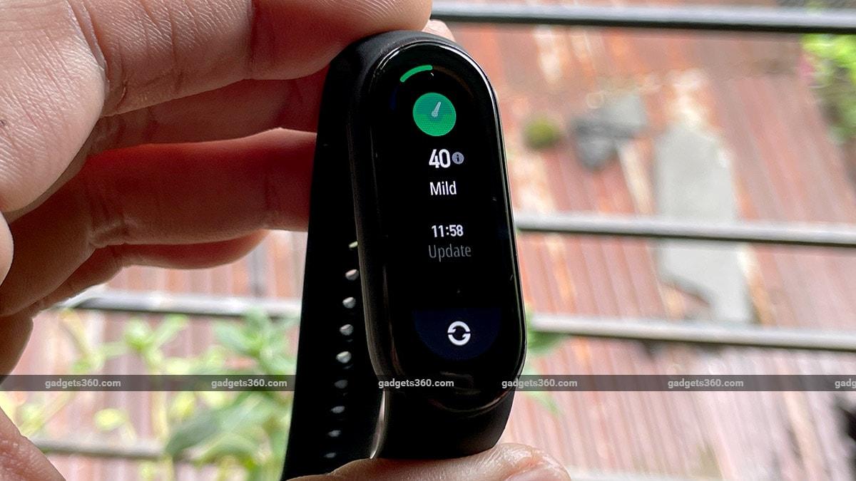 mi smart band 6 stress tracking gadgets360 Mi Smart Band 6 Review