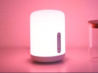 Mi Smart Bedside Lamp 2 With Voice Control Put Up for Crowdfunding by Xiaomi India