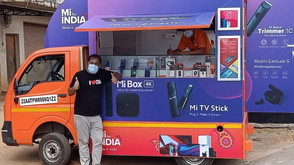 Xiaomi Launches 'Mi Store on Wheels' Moving Retail Shops in India