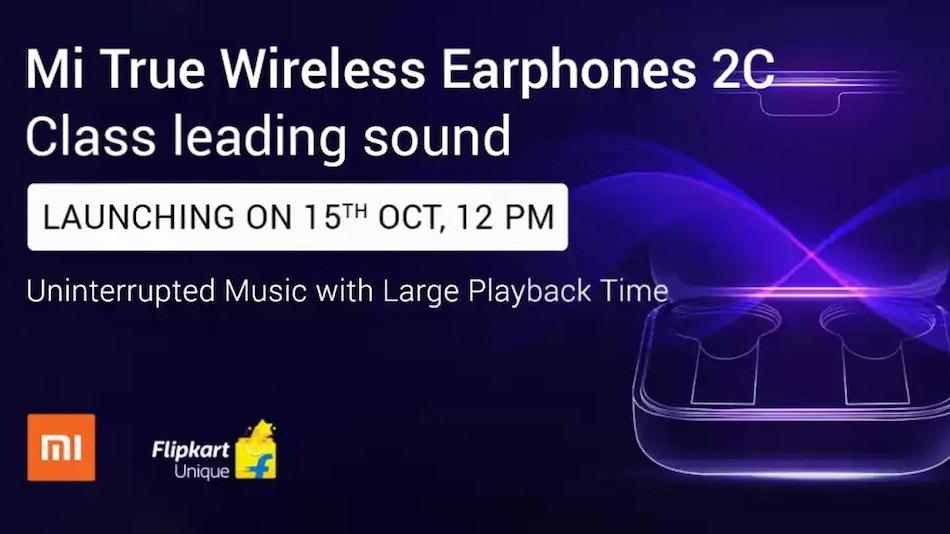 Mi True Wireless Earphones 2C with 14.2mm Drivers to Launch on October 15