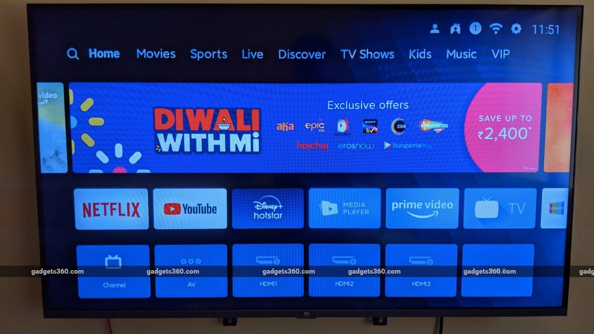 mi tv 4a horizon edition review patchwall Xiaomi Mi TV 4A Horizon Edition
