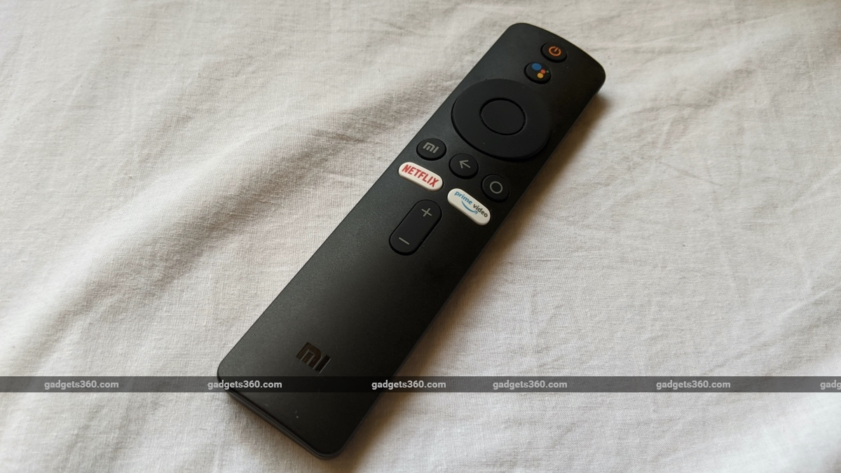 mi tv 4a horizon edition review remote Xiaomi Mi TV 4A Horizon Edition