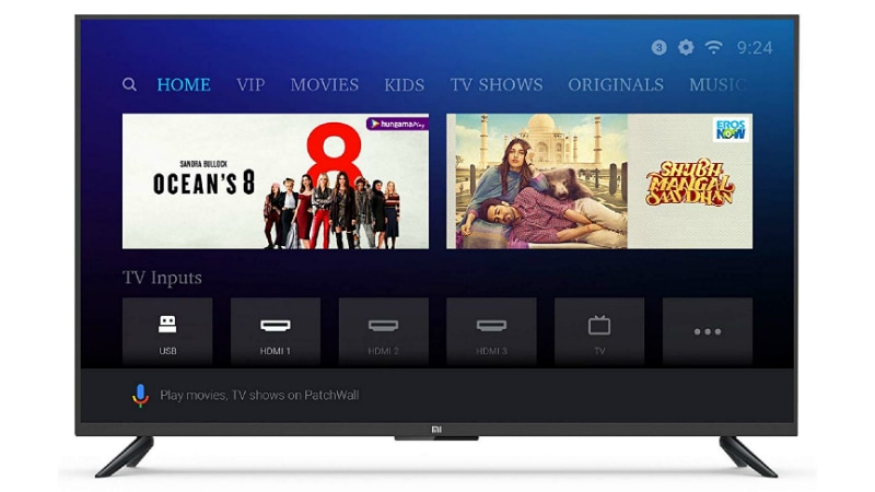 Xiaomi Mi TV Shipments in India Touch the 1-Million Mark in Less Than a Year
