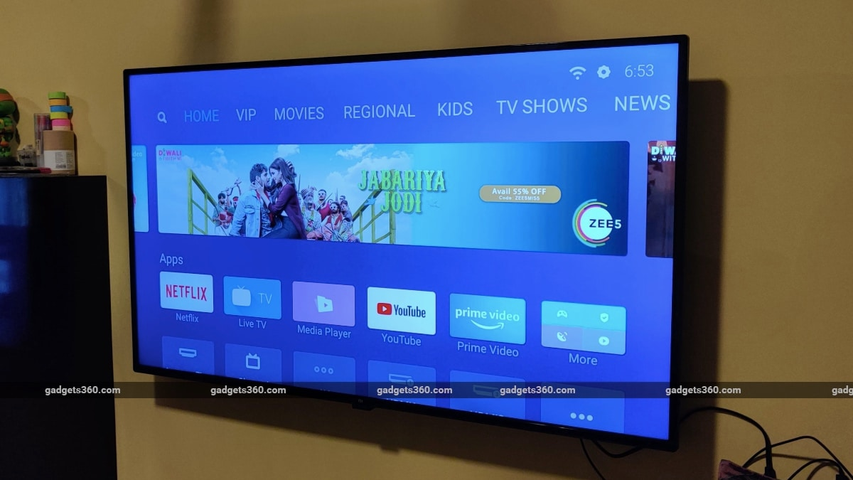 Mi Tv 4x Review Ndtv Gadgets 360