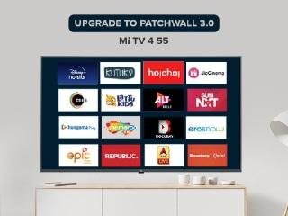 Mi TV 55-Inch Starts Receiving PatchWall 3.0 Update in India