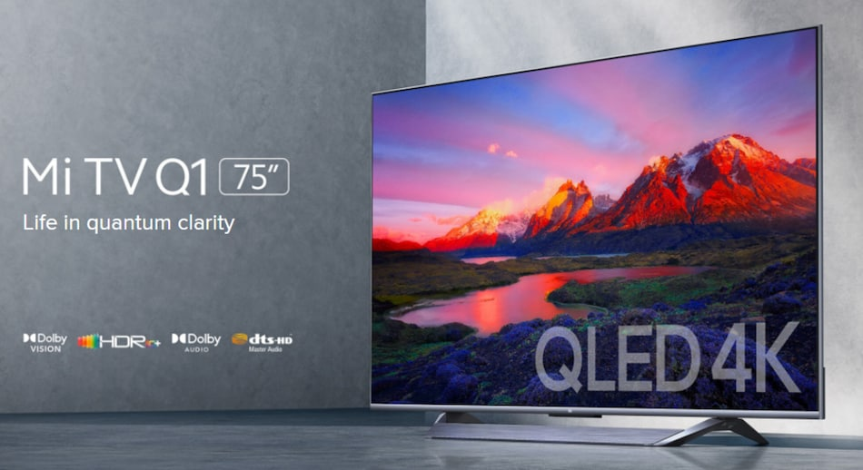 Mi TV Q1 75-Inch With 4K Display, Built-In Chromecast, 30W Stereo Speakers  Launched | Entertainment News