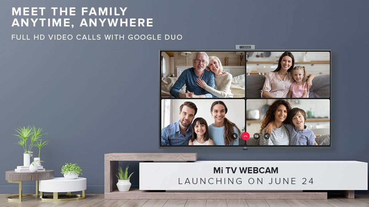 Mi TV Webcam With Full-HD Video Calling Support Debuting on June 24
