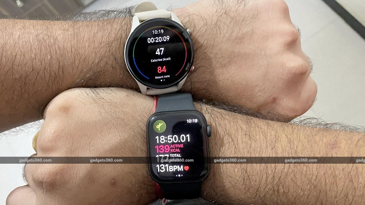 mi watch revolve active apple watch Mi Watch Revolve Active Review