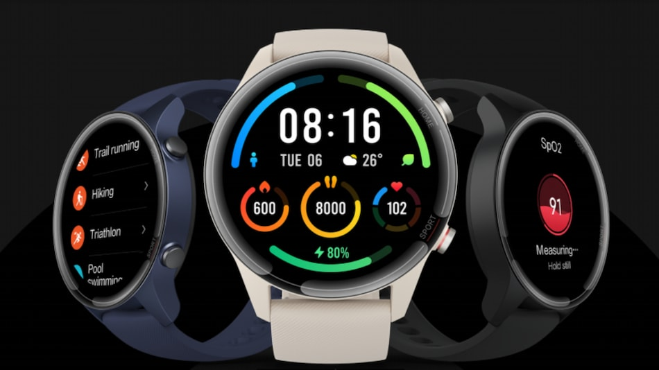 Mi Watch Revolve Active With SpO2 Monitoring, 14-Day Battery Life Launched in India