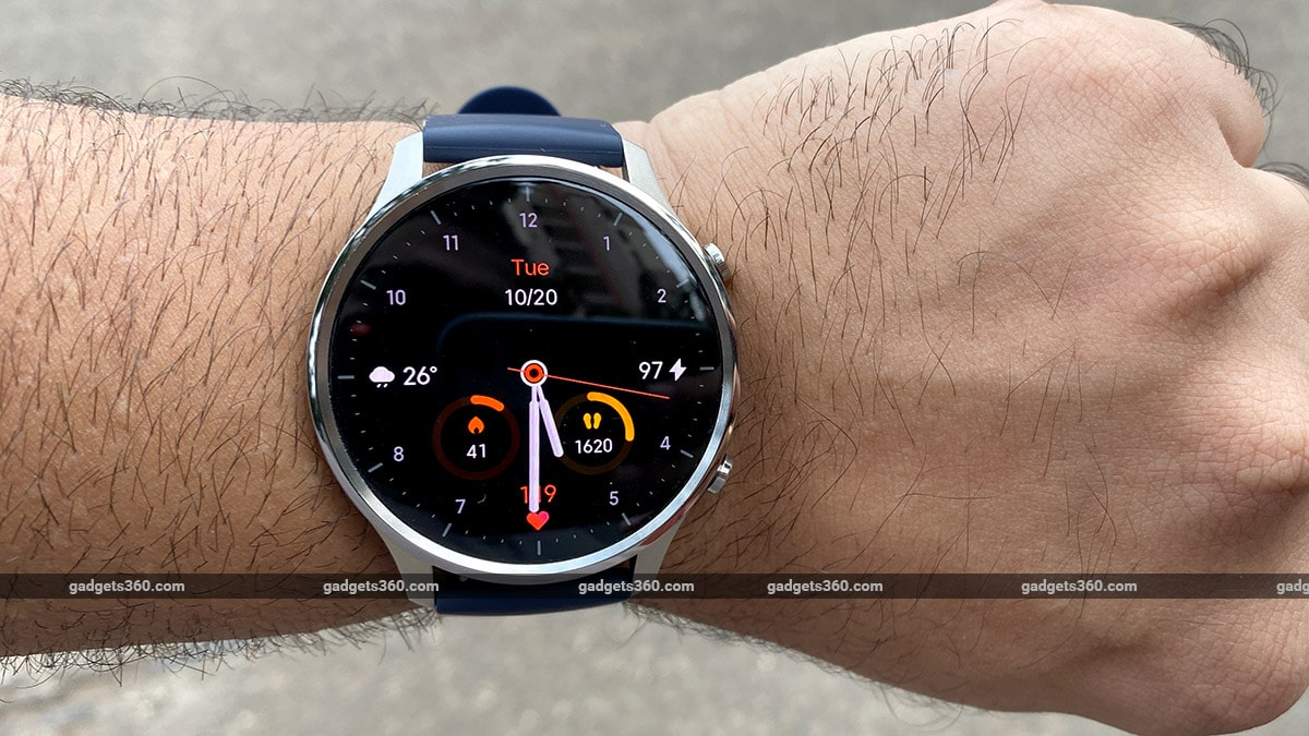 mi watch revolve display outdoors gadgets360 Mi Watch Revolve Review