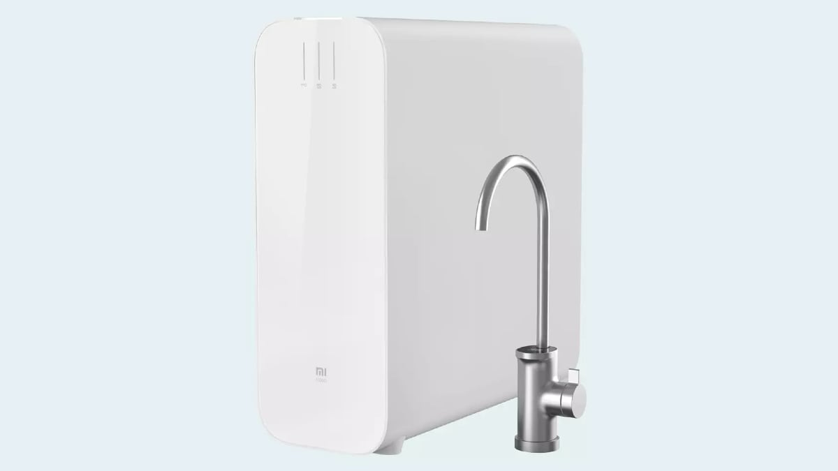 Mi Water Purifier H1000G With 3:1 Pure Wastewater Ratio Launched