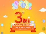 Xiaomi की तीसरी मी एनिवर्सरी सेल गुरुवार से, एक रुपये में बिकेंगे कई डिवाइस