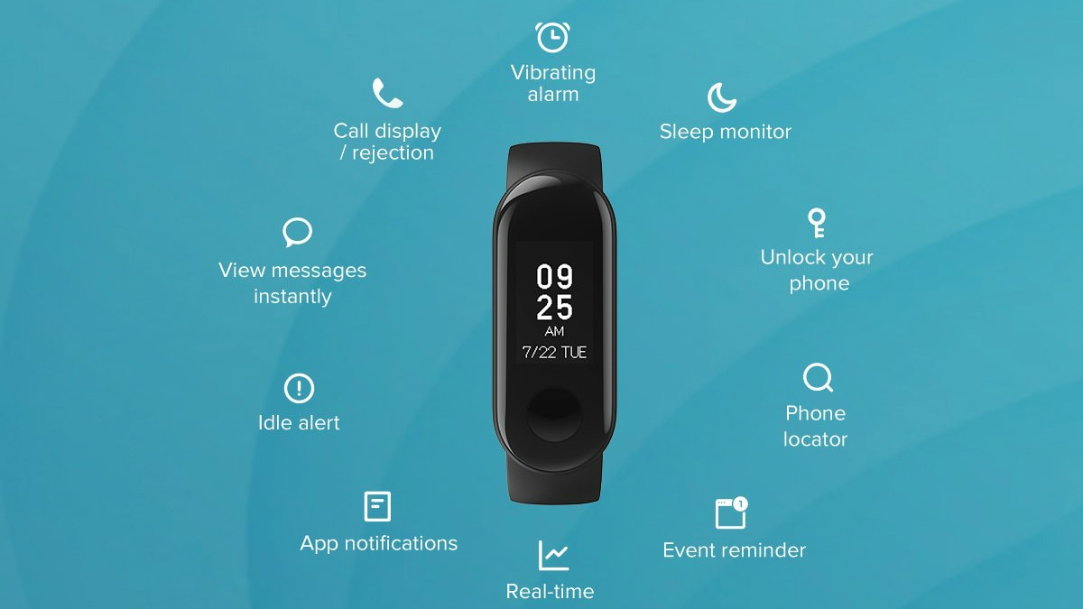 Mi Band 3i With 20-Day Battery Life, Monochrome Display Launched in India: Price, Specifications, More