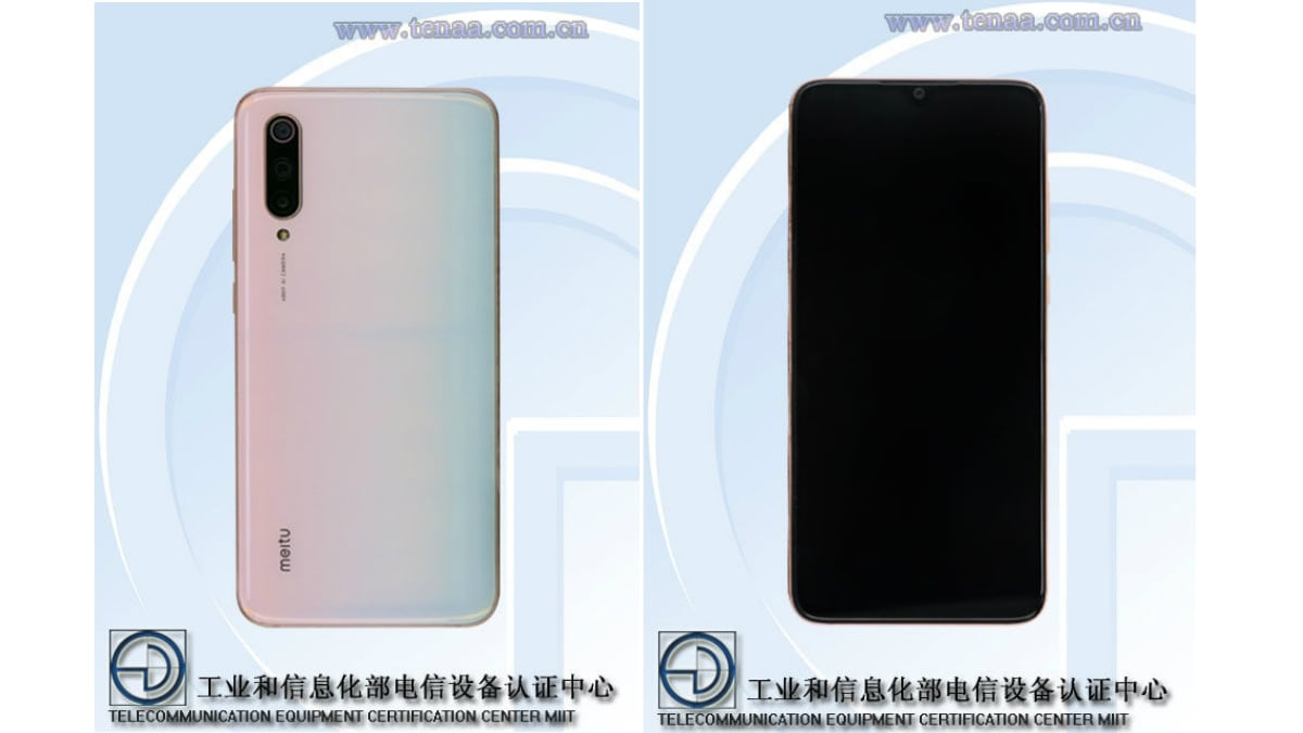 Xiaomi Mi CC9, Mi CC9e Photo, Full Specifications Allegedly Spotted on TENAA