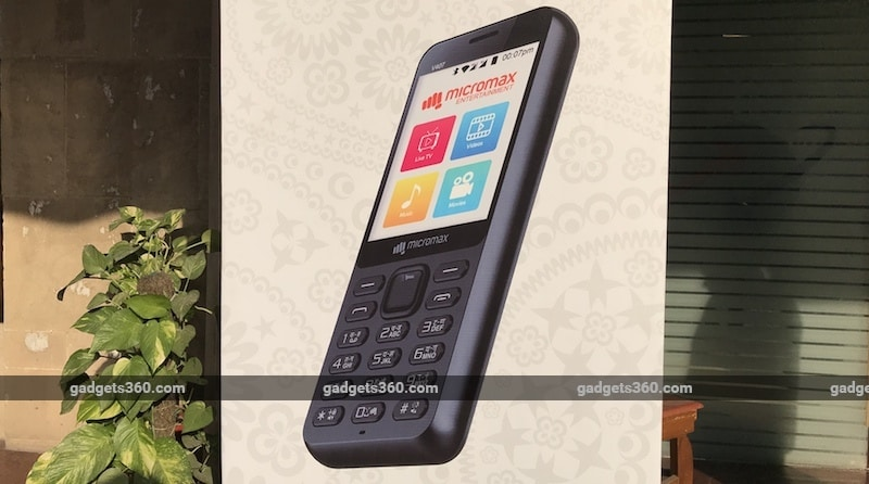 Micromax Bharat-1 4G Feature Phone Launched in Partnership With BSNL Offering'Unlimited Calls Data Usage