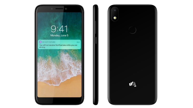 super cute 04ff4 c17bf Micromax Canvas 2 Plus (2018) With 18:9 Display, Selfie Flash ...
