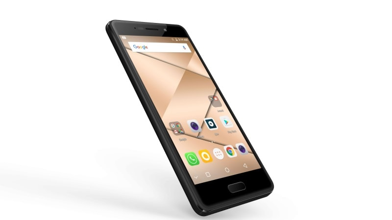 Smartphone Micromax Canvas 2 runs on Android 7