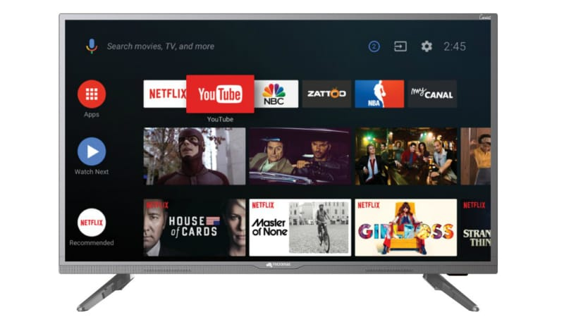 Micromax Canvas 3 Smart TVs With Android Nougat, Quad-Core Processors Launched in India