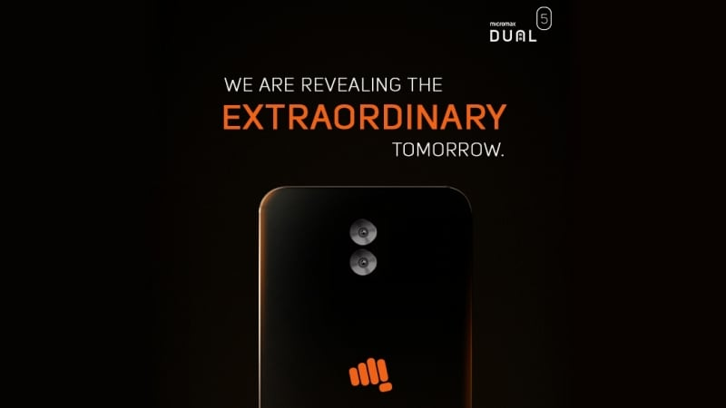 Micromax announces Dual 5 smartphone in India with dual rear cameras