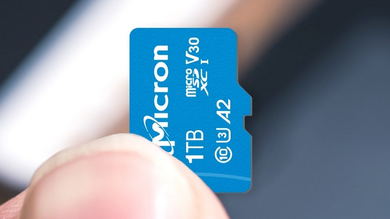 Western Digital 1TB microSD card be available now