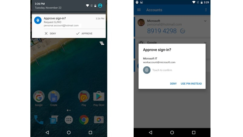 New features will arrive in Microsoft Authenticator (Windows Phone) after it…