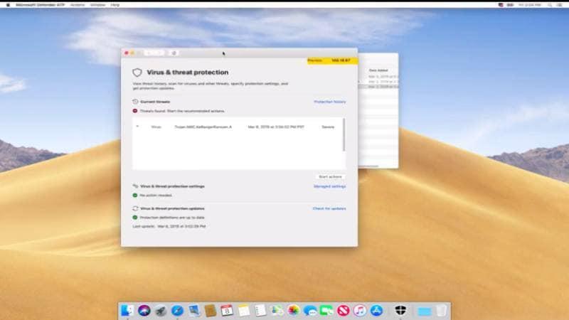 Windows Defender ATP Renamed Microsoft Defender ATP, Coming Soon to the Mac
