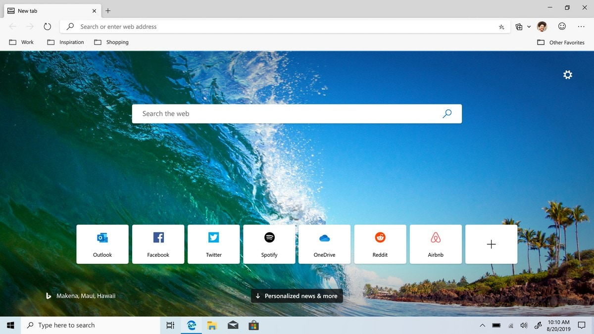Microsoft's Chromium-Based Edge Beta Now Available for Windows, macOS