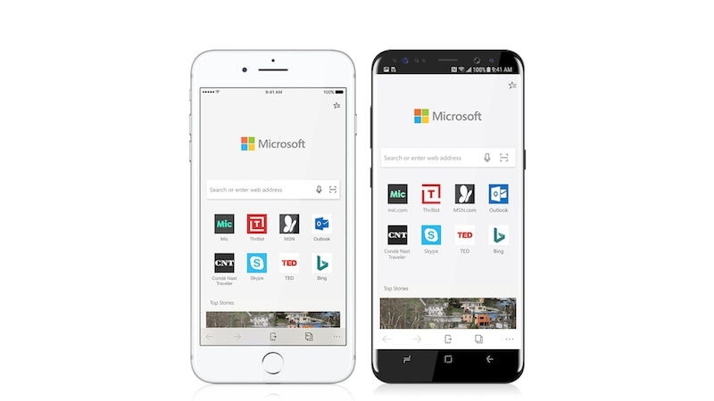 Microsoft Edge Preview Arrives on Android and iOS; Arrow Launcher Rebranded as Microsoft Launcher